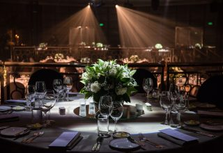 Dinner in the ballroom at Park Hyatt Melbourne