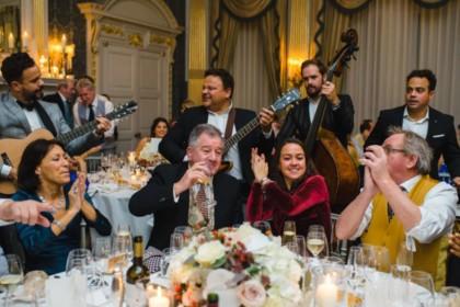 Claridge's Hotel Wedding Venue, French Salon, Photography by Louise Adby