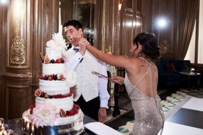 Claridge's Hotel Wedding Venue, Ballroom, Photography by KND