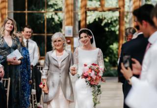 Kew Gardens Wedding Venue, Nash Conservatory, Photography by Michael Maurer