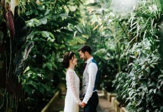 Kew Gardens Wedding Venue, Palm House, Photography by Michael Maurer