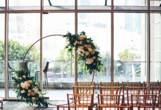 Wedding Ceremony at Metropolis Events Luxury Event Venue Melbourne