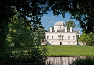 Exterior View of Chiswick House and Gardens, Wedding and Event Venue London