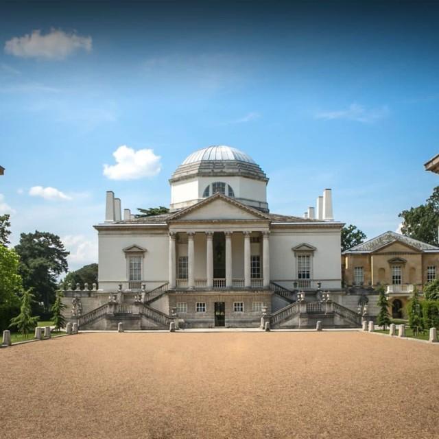 Exterior view of Chiswick House & Gardens, Entrance, Wedding & Event Venue
