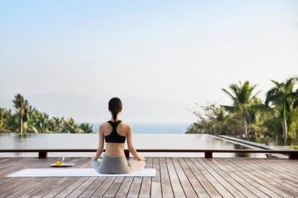Park Hyatt Melbourne Yoga Sessions, Terrace