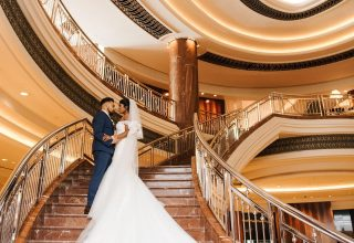 Park Hyatt Melbourne Wedding Venue, Ballroom Staircase