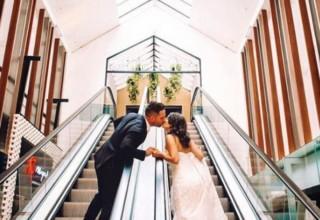 Metropolis Events Wedding Venue, Escalator
