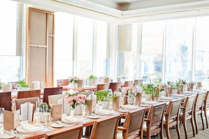 The Langham Melbourne Corporate Lunch, Melba Restaurant