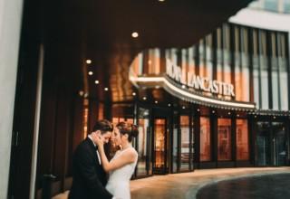 Royal Lancaster London Wedding Venue, Outside space, Lawson Photography