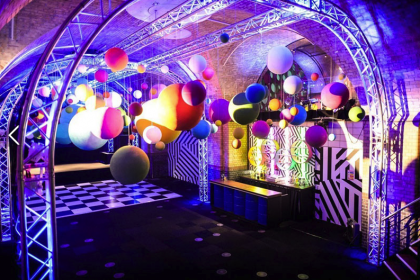 Ready to Celebrate in The Vault at Old Billingsgate London Event Venue