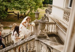 Chiswick House & Gardens Wedding Venue, Staircase, Photography by Kris Piotrowski