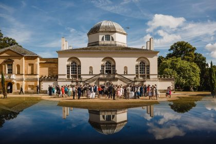 Chiswick House & Gardens Wedding Venue, Outside space, Photography by Kris Piotrowski