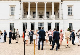 Queen's House Corpoarate Party, Grounds, Photography by Fiona Kelly