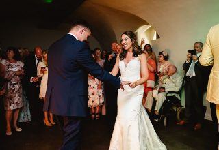 Queen's House Greenwich Wedding Venue, Undercroft, Photography by Fiona Kelly