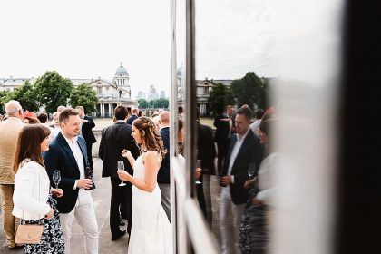 Queen's House Greenwich Wedding Venue, Outside space, Photography by Fiona Kelly