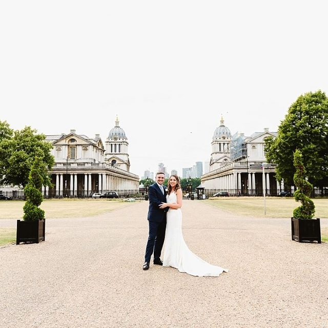 Queen's House Greenwich Wedding Venue, Grounds, Photography by Fiona Kelly