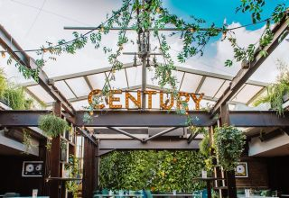 Century Club London Soho Weddings and Events Venue - Rooftop Bar