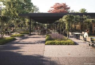 Kew Gardens Picnics, Cafe