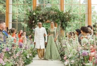 Kew Gardens Wedding Venue, Nash Conservatory, Photography by Zohaib Ali