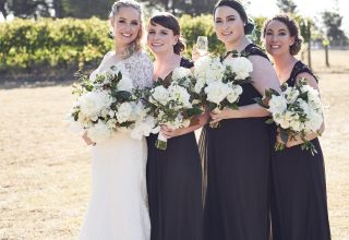 Levantine Hill Wedding Venue Photo by Lost in Love Photography Bridesmaids