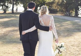Levantine Hill Wedding Venue Photo by Lost in Love Photography Couple