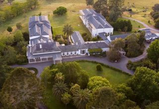 Chateau Yering Corporate Venue, View from above