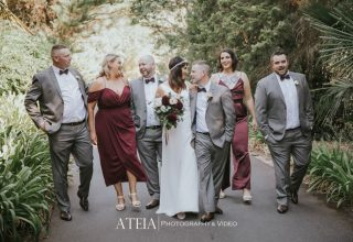 Chateau Yering Wedding Venue, Outside, Photography by Ateia