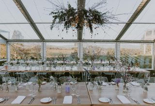 Wet weather wedding option at Chateau Yering in Yarra Valley Melb Photo by Elsa Campbell