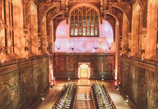 The Great Hall, Hampton Court Palace, Surrey Venue Hire, Weddings and Events