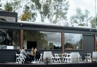 Fergusson Winery Corporate Meetings, Outside space