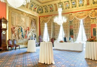 Drapers' Hall Engagement Party, Drawing Rooms