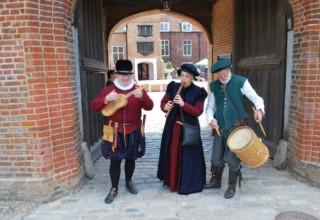 Fulham Palace Tudor Tours, Courtyard