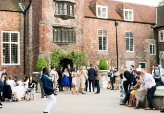 Fulham Palace Wedding Venue, Courtyard