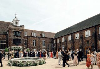 Fulham Palace Summer Party, Tudor Courtyard