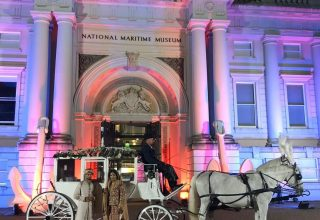 National Maritime Museum Wedding Venue, Entrance