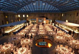 National Maritime Museum Corporate Dinner, Upper Deck