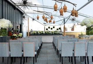 Ham Yard Hotel, Roof Terrace