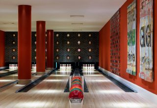 Ham Yard Hotel Bowling Alley