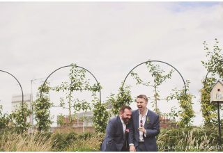 Ham Yard Hotel Wedding Venue, Rooftop, Photography by Nick Rose