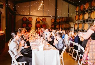 Fergusson Winery Birthday Lunch, Whole Venue