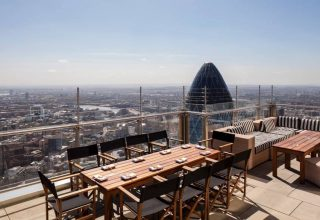 SUSHISAMBA Wedding Venue, Terrace