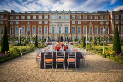 Hampton Court Palace Private Party, Privy Gardens