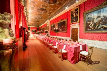 Hampton Court Palace Birthday Party, Dining Space