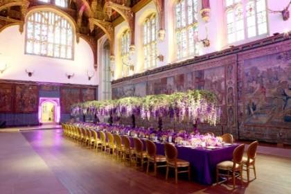 Hampton Court Palace Corporate Dinner, Great Hall1