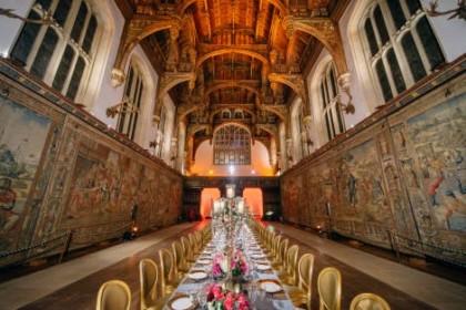 Hampton Court Palace Corporate Dinner, Great Hall