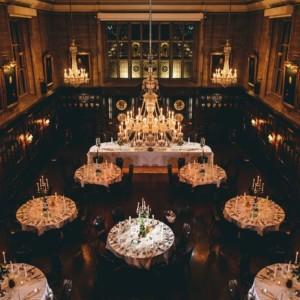 Ironmongers' Hall Wedding Venue, Banqueting Hall, Photography by Miki Studios