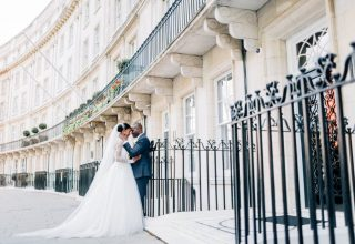 The Dorchester Wedding Venue, Outside, Photography by Jacob and Pauline