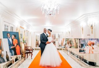 The Dorchester Wedding Venue, Entrance, Photography by Jacob and Pauline