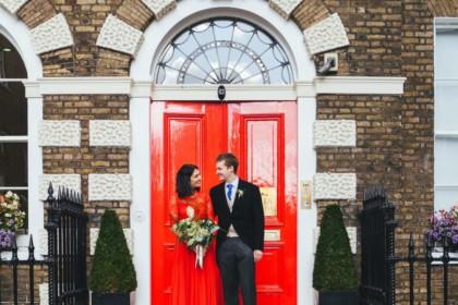 Asia House Wedding Venue, Entrance, Photography by Katy & Co