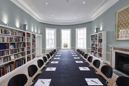 Asia House Corporate Meeting, Library